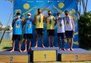 Dupla sul-mato-grossense são campeões invictos de etapa do Circuito Brasileiro Sub-19 de vôlei de praia