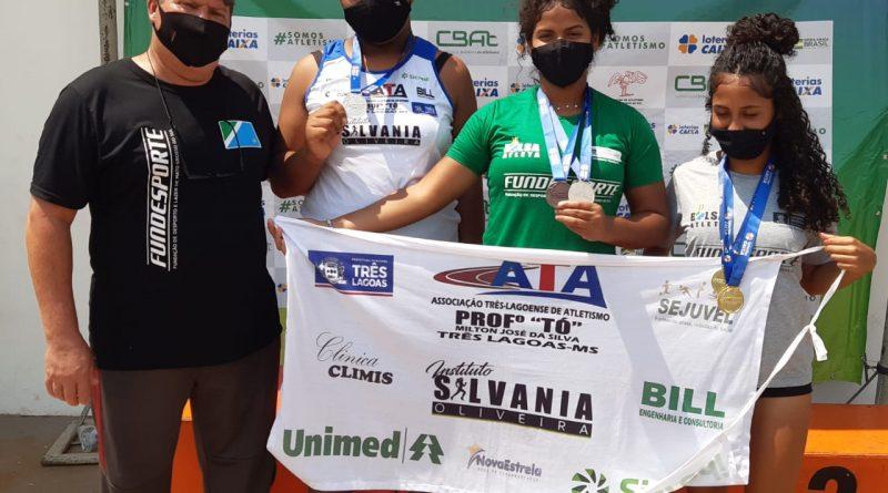 Ana Laura quebra dois recordes e Camila Inês e Vitória conquistam segundo lugar em Campo Grande