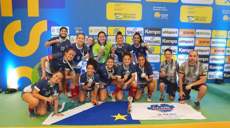 Futsal feminino de MS termina como segundo melhor do país e faz história