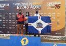 Com apenas 13 anos, atleta da SEJUVEL Vitória Barreto conquista medalha de bronze em sua estreia no Campeonato Brasileiro de Atletismo